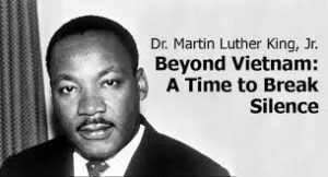 Martin luther king jr beyond vietnam a time to break silence summary